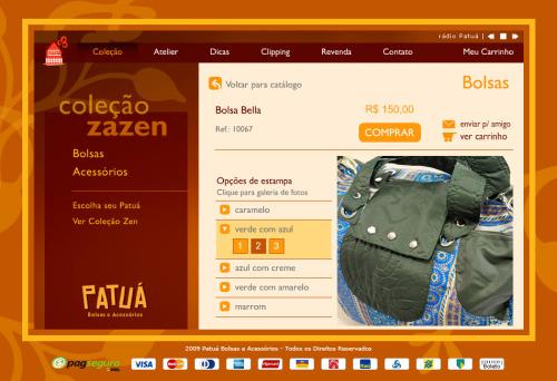 Página detalhando produto