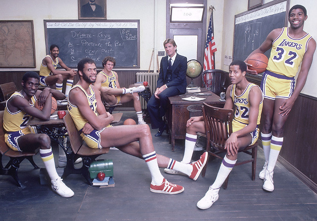 SI Photo Blog — Members of the 1981-82 Los Angeles Lakers – Norm