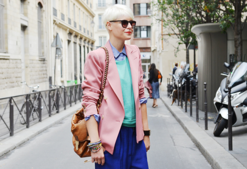 pastels tommy ton colour blocking want to wear street style