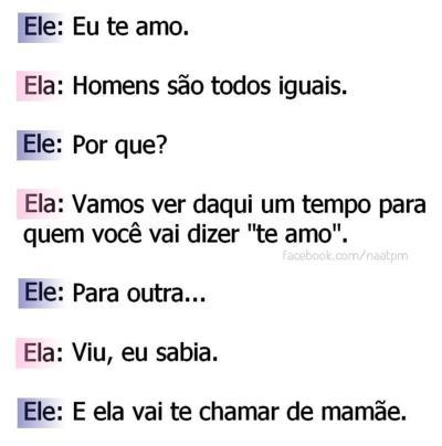 Homens Iguais Tumblr