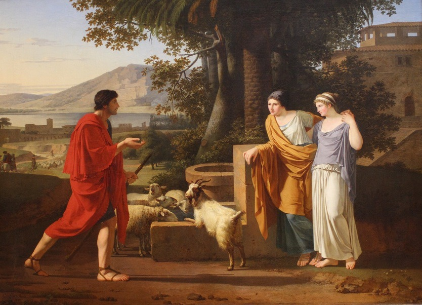 Louis Gauffier, Jacob with the Daughters of Laban, 1787