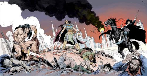 Conan the Barbarian Kull Solomon Kane Joe Kubert Dark Horse Comics