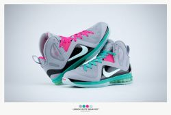"competitive price c2194 573dc Nike Lebron 9 Elite ""Miami Vice"""