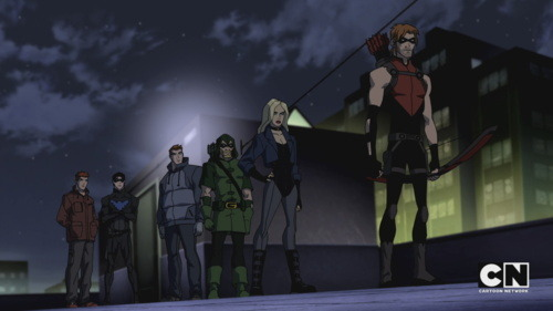 KF Young Justice Wally West Roy Harper Kid Flash Red Arrow YJ All of my feels feels