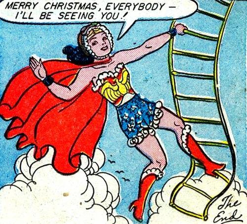 Superdames! — —Sensation Comics #38 (1945) by William Moulton...