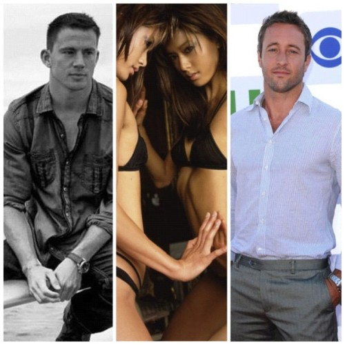 Channing Tatum Grace Park Alex Oloughlin I Me Myself