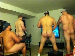 """poohcub: """" the offensive line at the University of Buffalo - thank you. """""""