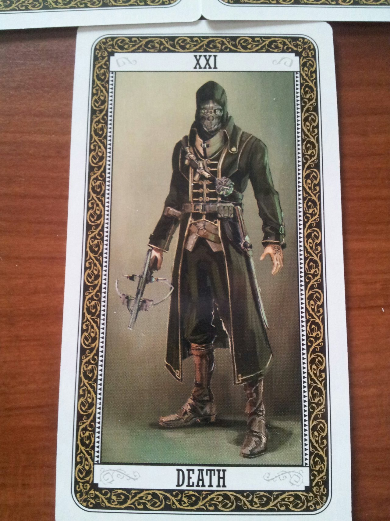 DISHONORED TAROT DECK/PLAYING CARDS PHOTOSET One...